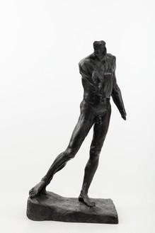 Auguste Rodin, Pierre de Wissant, nu monumental sans tête ni mains, 1886 Bronze, 74 ⅞ × 43 ¼ × 31 ⅛ inches (190 × 110 × 79 cm), edition 2/8 + 4 AP, cast: Fonte Susse (2015)Photo: Lucy Dawkins