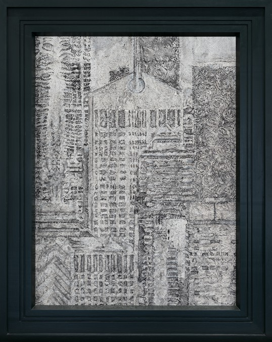 Richard Artschwager, AT&T Building in the Year 2000, 1987