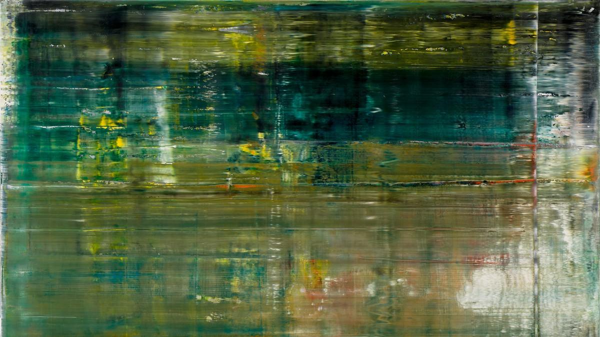 Gerhard Richter, Cage 1, 2006 (detail)