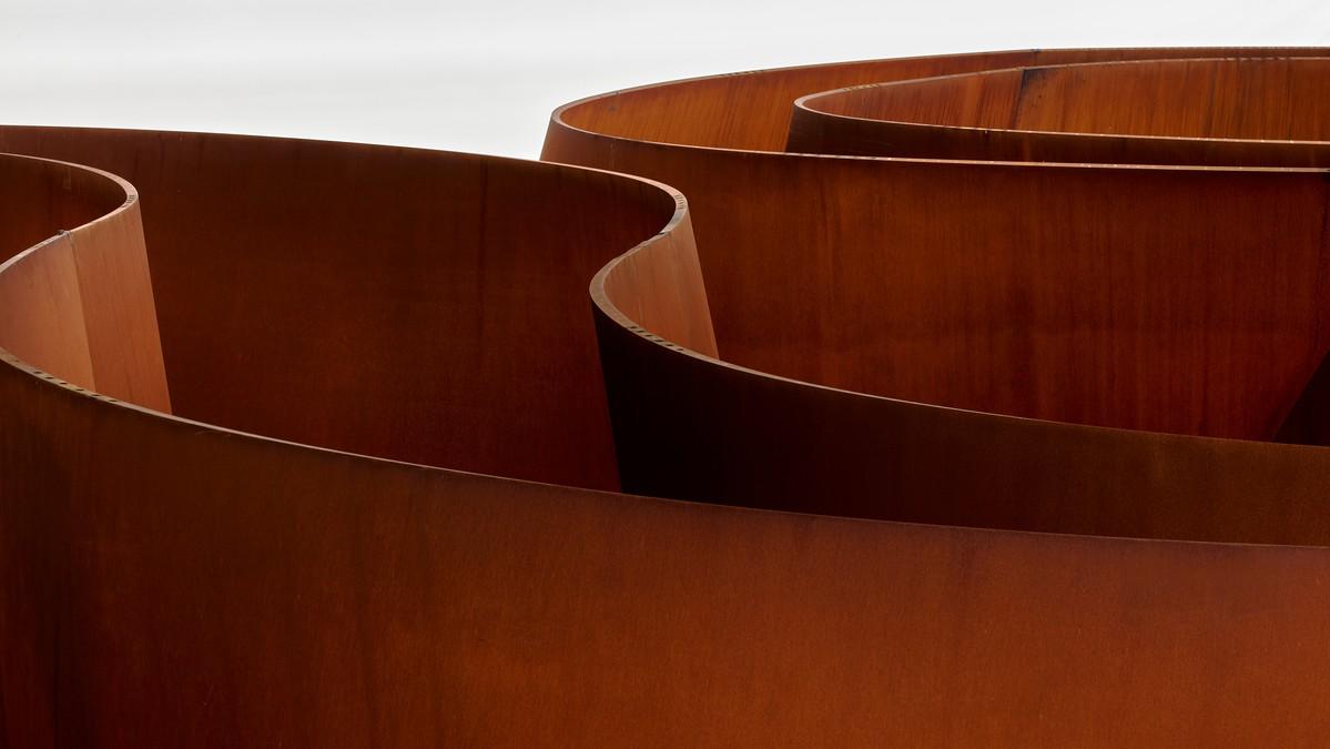 Richard Serra, Transmitter, 2020 (detail)