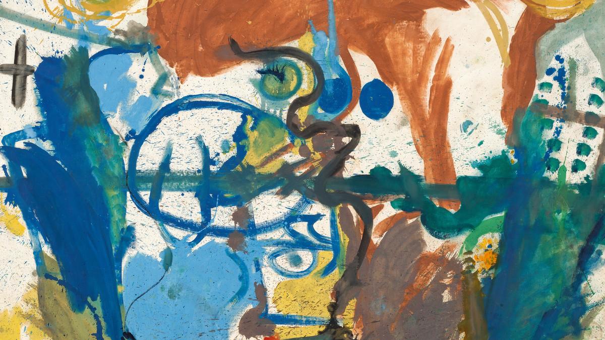 Helen Frankenthaler, Untitled, 1958