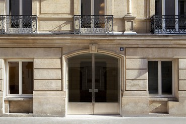 A photograph of the outside of the Gagosian location Paris