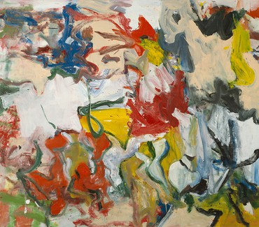 Willem de Kooning, Untitled XI, 1975, Art Institute of Chicago © The Willem de Kooning Foundation/Artists Rights Society (ARS), New York
