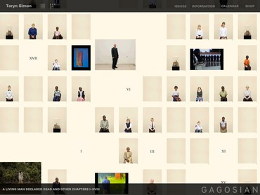 Gagosian App for iPad