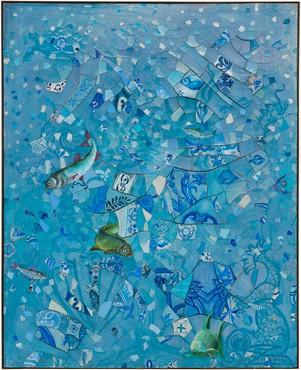 Adriana Varejão, O Milagre dos Peixes(The Miracle of the Fish), 1991 © Adriana Varejão