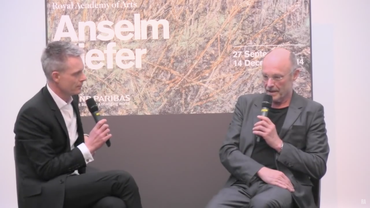 Anselm Kiefer in Conversation with Tim Marlow