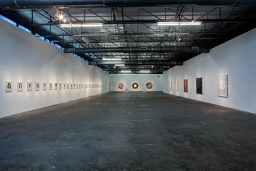 Installation view, Adriana Varejão: Kindred Spirits, Dallas Contemporary, September 20–December 20, 2015. Artwork © Adriana Varejão. Photo: Kevin Todora