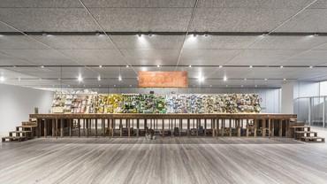 Installation view, Theaster Gates: True Value, Fondazione Prada, Milan, July 7–September 25, 2016. Artwork © Theaster Gates. Photo: Delfino Sisto Legnani Studio