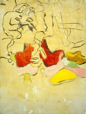 Willem de Kooning, Man on the Dunes, 1971 © The Willem de Kooning Foundation/Artists Rights Society (ARS), New York