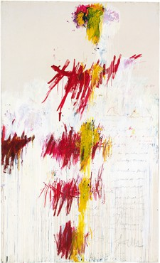 Cy Twombly, Part 1: Primavera from Quattro Stagioni, 1993–94 © Cy Twombly Foundation