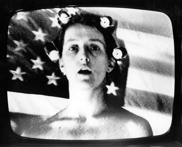Film still from Richard Serra, Robert Bell, and Carlota Schoolman's Prisoner's Dilemma (1974)