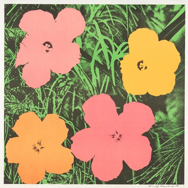 Andy Warhol, Flower, 1964 © 2017 The Andy Warhol Foundation for the Visual Arts, Inc./Artists Rights Society (ARS), New York. Photo: Therese Husby, courtesy Nasjonalmuseet