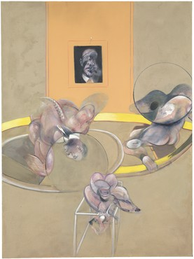 Francis Bacon, Three Figures and Portrait, 1975, Tate © Estate of Francis Bacon