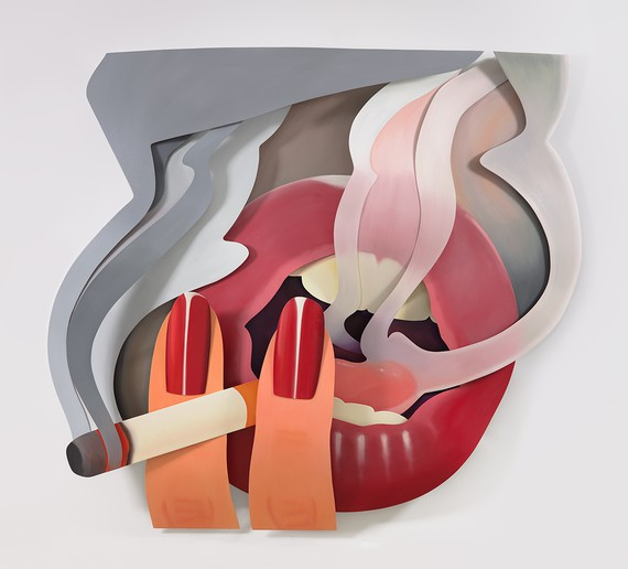 Tom Wesselmann, Smoker #3 (3-D), 2003 © The Estate of Tom Wesselmann/Licensed by VAGA, New York