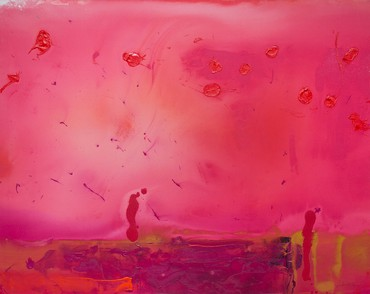Helen Frankenthaler, Red Shift, 1990 © 2017 Helen Frankenthaler Foundation, Inc./Artists Rights Society (ARS), New York