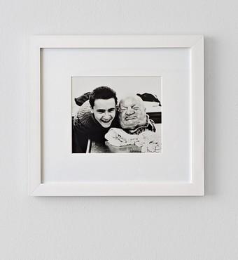 Damien Hirst, With Dead Head, 1991. Photo by Bernhard Strauss