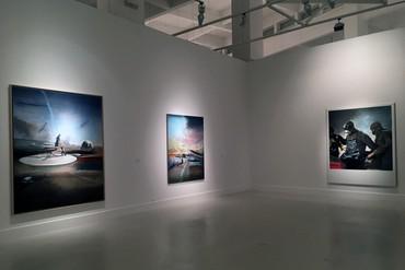 Installation view, Jia Aili, Centro de Arte Contemporáneo, Málaga, Spain, March 17–June 18, 2017. Artwork © Jia Aili Studio
