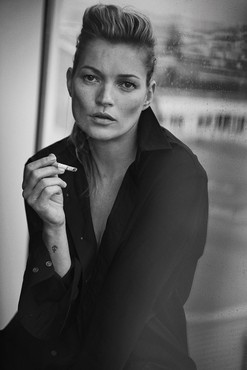 Peter Lindbergh, Kate Moss, Paris, 2014, 2014