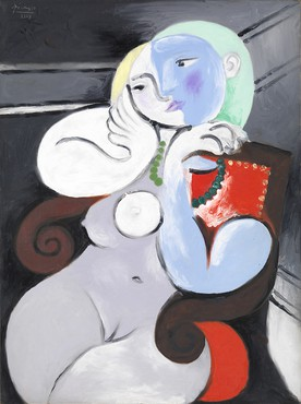 Pablo Picasso, Nude Woman in a Red Armchair, 1932, Tate © 2017 Estate of Pablo Picasso/Artists Rights Society (ARS), New York. Photo © Tate, London 2017