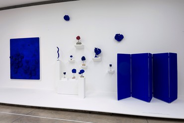 Artwork © Yves Klein Estate, ARS, New York, 2017. Photo © PROA Fundacion, Buenos Aires