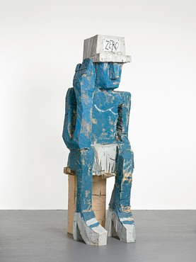 Georg Baselitz, Folk Thing Zero, 2009 © Georg Baselitz. Photo by Jochen Littkemann