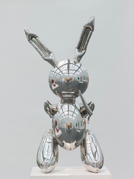 Jeff Koons, Rabbit, 1986 © Jeff Koons.Photo by Nathan Keay © MCA Chicago