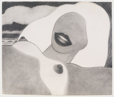 Tom Wesselmann, Drawing for Great American Nude #73, 1965 © The Estate of Tom Wesselmann/Licensed by VAGA, New York
