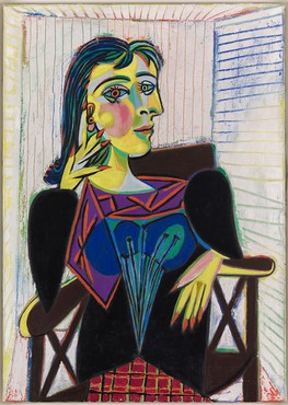 Pablo Picasso, Portrait of Dora Maar, 1937 © 2017 Estate of Pablo Picasso/Artists Rights Society (ARS), New York