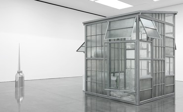 Installation view, Robert Therrien, Gagosian, New York. Photo by Rob McKeever