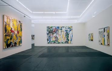 Installation view, Bilderstreit, Museum Ludwig at Rheinhallen, Cologne, April 8–June 28, 1989