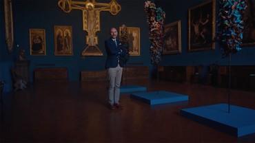 "Still from ""Glenn Brown at Museo Stefano Bardini"""