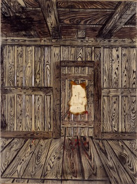 Anselm Kiefer, The Door, 1973 © Anselm Kiefer