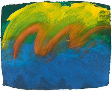 Howard Hodgkin, Mumbai Wedding, 1990–91© Howard Hodgkin