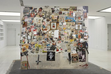 Dan Colen, Secrets and Cymbals, Smoke and Scissors (My Friend Dash's Wall in the Future), 2004–06/2016