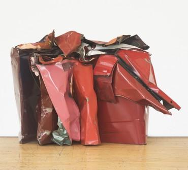 John Chamberlain, Three-Cornered Desire, 1979© 2017 Fairweather & Fairweather LTD/Artists Rights Society (ARS), New York. Photo: Bill Jacobson Studio
