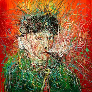 Zeng Fanzhi, Van Gogh III, 2017 © Zeng Fanzhi
