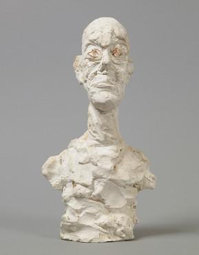 Alberto Giacometti, Buste d'homme vers, 1962, Fondation Alberto et Annette Giacometti, Paris © Succession Alberto Giacometti (Fondation Giacometti + ADAGP) Paris 2017