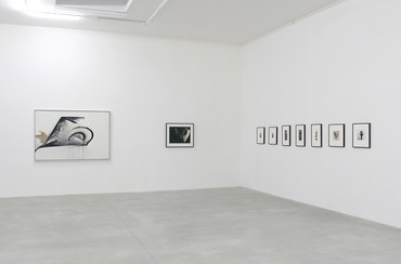 Installation view, Jay DeFeo: The Ripple Effect, Le Consortium, Dijon, France, February 2–May 20, 2018. Artwork © 2020 The Jay DeFeo Foundation/Artists Rights Society (ARS), New York