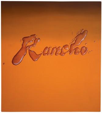 Ed Ruscha, Rancho, 1968 © Ed Ruscha