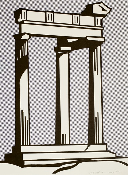 Roy Lichtenstein, Temple, 1964 © Estate of Roy Lichtenstein