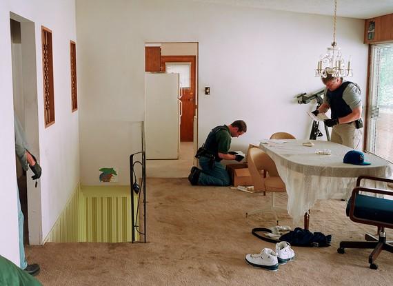 Jeff Wall, Search of Premises, 2009 © Jeff Wall