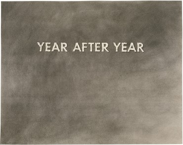 Ed Ruscha, Year after Year, 1973, UBS Art Collection © Ed Ruscha