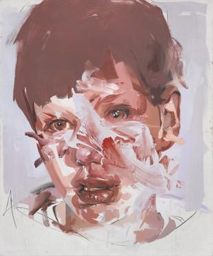 Jenny Saville, Untitled (Stare Study III), 2005–06 © Jenny Saville