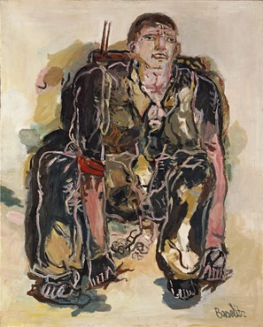 Georg Baselitz, The Modern Painter, 1965 © Georg Baselitz. Photo by Frank Oleski
