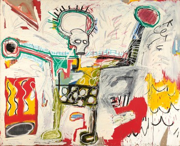 Jean-Michel Basquiat, Untitled, 1982, Museum Boijmans Van Beuningen, Rotterdam © VG Bild-Kunst Bonn, 2018 and the Estate of Jean-Michel Basquiat, Licensed by Artestar, New York. Photo: Studio Tromp, Rotterdam