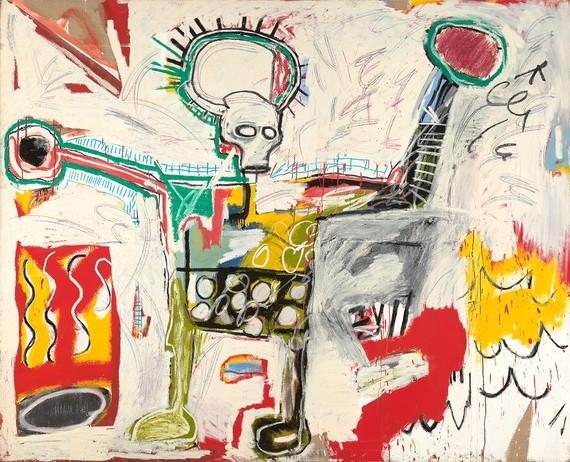 Jean-Michel Basquiat, Untitled, 1982, Museum Boijmans Van Beuningen, Rotterdam © VG Bild-Kunst Bonn, 2018 and the Estate of Jean-Michel Basquiat, Licensed by Artestar, New York. Photo: Studio Tromp, Rotterdam