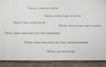 Installation view, I to Eye, Israel Museum, Jerusalem, June 27, 2018–April 2019. Artwork © Studio lost but found/VG Bild-Kunst, Bonn 2018