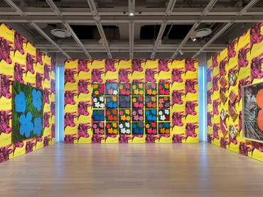 Installation view, Andy Warhol–From A to B and Back Again, Whitney Museum of American Art, New York, November 12, 2018–March 31, 2019 © 2019 The Andy Warhol Foundation for the Visual Arts, Inc./Artists Rights Society (ARS), New York