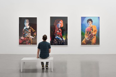Installation view, Cindy Sherman, Weserburg | Museum für moderne Kunst, Bremen, Germany, May 18, 2018–February 24, 2019 © Cindy Sherman. Photo: Björn Behrens