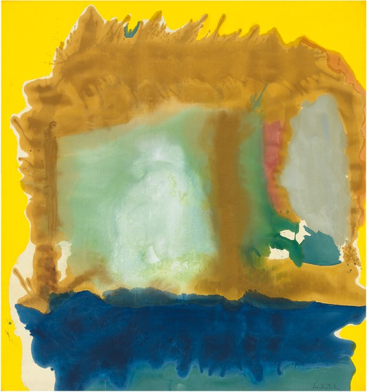 Helen Frankenthaler, Milkwood Arcade, 1963 © 2018 Helen Frankenthaler Foundation, Inc./Artists Rights Society (ARS), New York